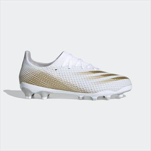 ADIDAS X GHOSTED.3 MG JR white/metallic gold melange/core black