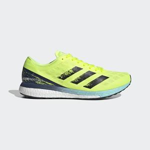ADIDAS ADIZERO BOSTON 9 M A2 235gr 10d solar yellow/core black/clear aqua