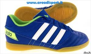 ADIDAS - FREEFOOTBALL SUPER SALA JR BLU BIANCO VERDE
