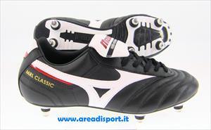 mizuno mrl classic si sg nero bianco rosso scarpe calcio