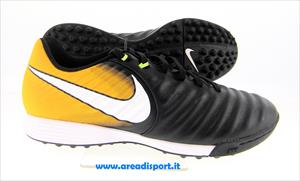 NIKE - TIEMPOX LIGERA IV TF black/white-laser orange-volt