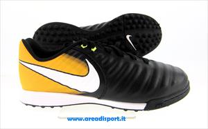 NIKE - TIEMPOX LIGERA IV TF JR black/white-laser orange-volt