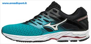 MIZUNO - WAVE SHADOW 2 W A2 210gr 8d peacock blue/silver/teaberry